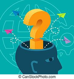 brainstorm, pojęcia, problem rozwiązujący