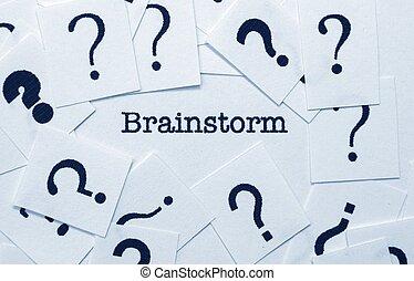 brainstorm, pojęcie