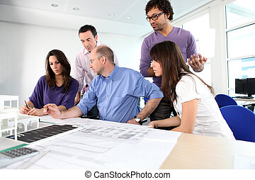brainstorming, architekci