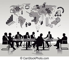brainstorming, discussão