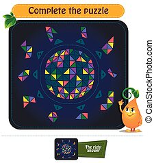 brainteaser, complet, puzzle