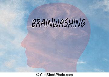 BRAINWASHING - persuasion concept