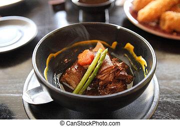 braised pork belly in Japanese style