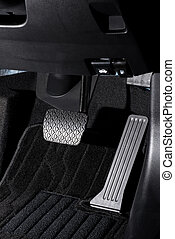 Brake and accelerator pedal of automatic transmission car