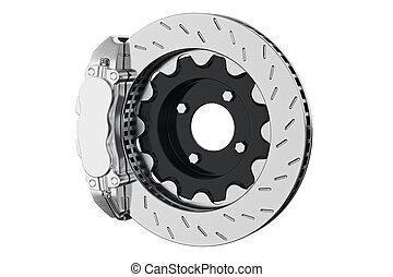 Brake car disk