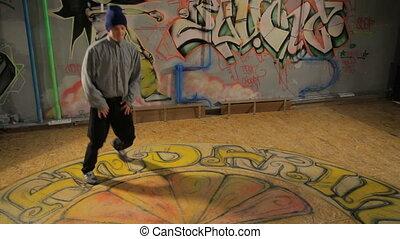 Brake Dancer head spinner - Dancer head spinner, 5DII,...