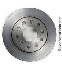 brake disc isolated on  white background