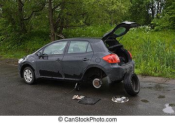 brake Disc on Car