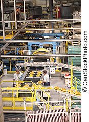 Brake discs' factory