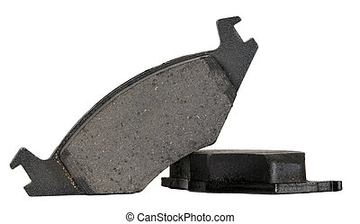 Brake pads for automobile wheels