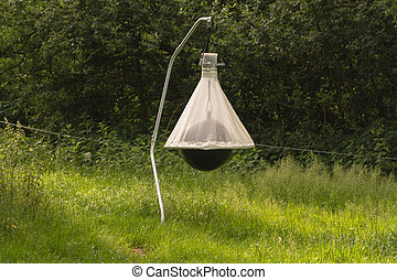 Brake trap and insect trap for horse