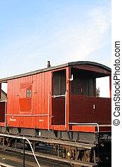 Brake Van - Vintage Railway Guards Brake Van
