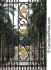 brama, malezyjczyk, pałac
