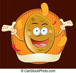 bramborové hranolky smažené, talisman