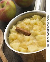 bramley, molho maçã
