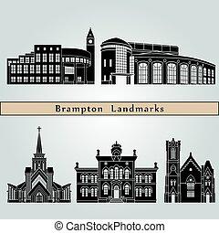 brampton, landmarks.eps