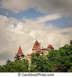 Bran Castle also known for the myth of Dracula, Romania