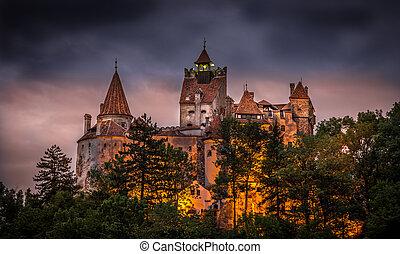 "Castle ""BRAN"" from 13th century, Romania, Europe"