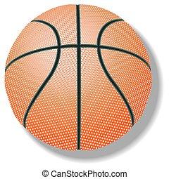 branca, basquetebol, contra