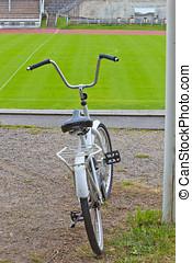 branca, bicicleta