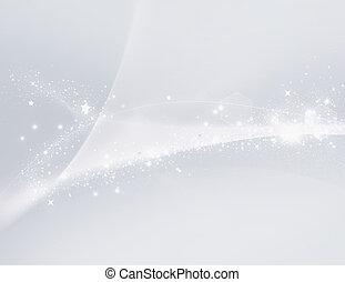 branca, borrão claro