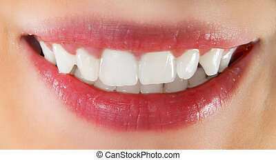 branca, dentes saudáveis