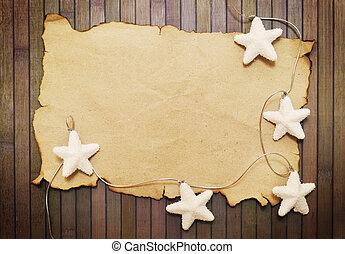 branca, estrelas