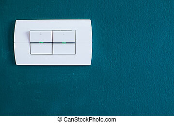branca, interruptor claro