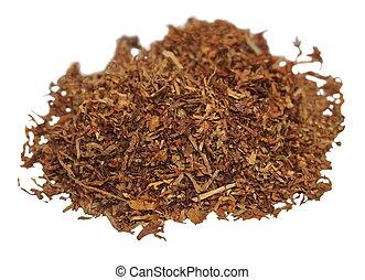 branca, isolado, tabaco