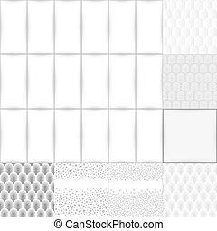 branca, jogo, cinzento, fundo,  seamless