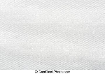 branca, lona, fundo, textura