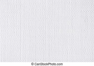 branca, lona, fundo, texture.
