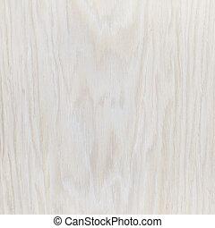 branca, madeira, carvalho, fundo, folheado