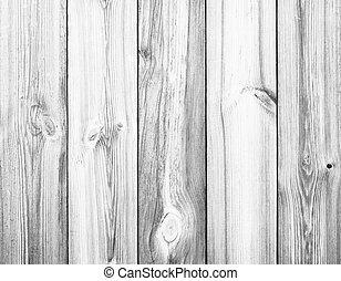 branca, madeira, pranchas, como, fundo, ou, textura