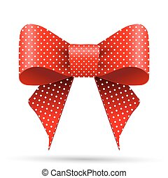 branca, ponto polka, arco vermelho