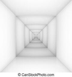 branca, quarto vazio