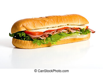 branca, sanduíche