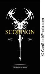 branca, scorpion.