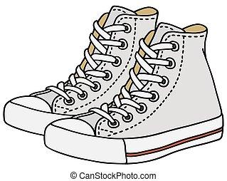 branca, sneakers