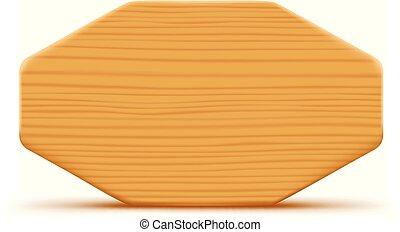 branca, tábua madeira