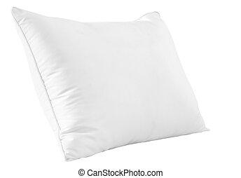 branca, travesseiro