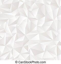 branca, vetorial, abstratos, fundo, alívio