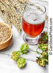 Branch beer hops