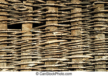 Branch fence background