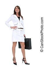 branche kvinde, tøjsæt