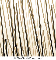 Branches - Background of abstract brown lines implying ...