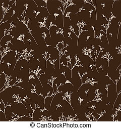 branches seamless pattern - Seamless pattern can be used for...