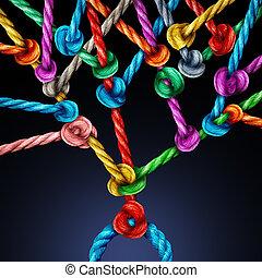 Branching Network