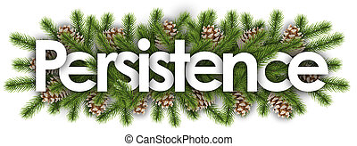 branchs, fundo, pinho, -, natal, persistência