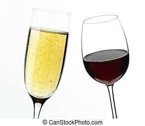 branco vermelho, vinho